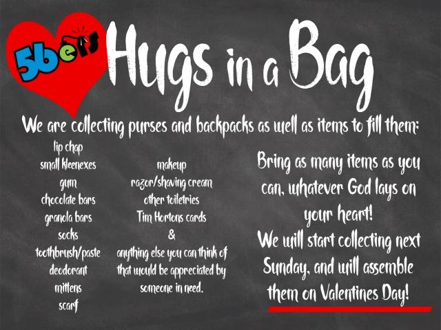 hugs in a bag